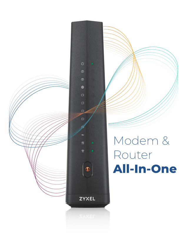 Zyxel Modem Router All In One